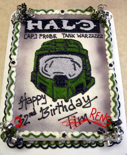 Cakes To Look Loke Halo Game